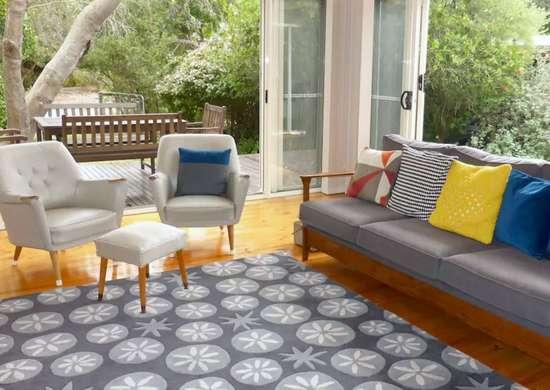 Indoor Outdoor Wood Deck