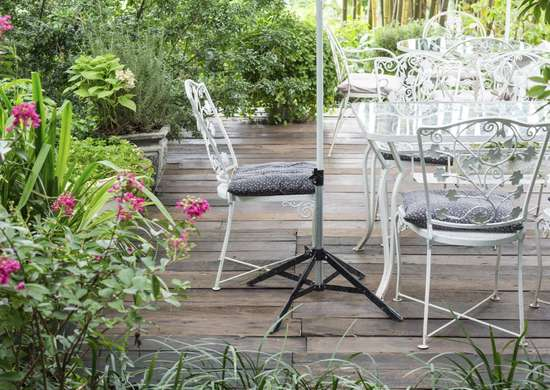 Winterize patio furniture with car wax
