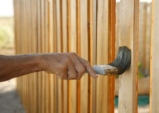 Reseal a Weathered Wood Fence