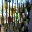 DIY Wine Bottle Wall