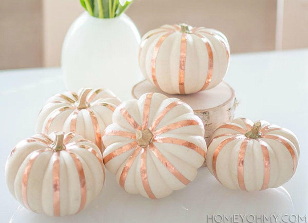 Copper striped pumpkin