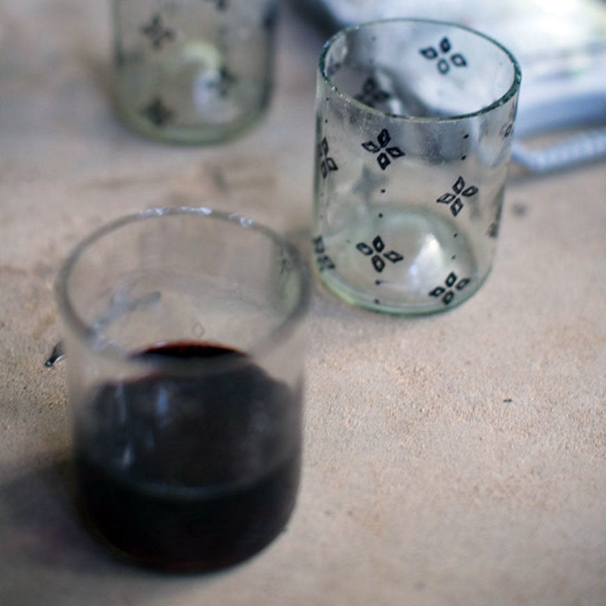 Bottle glasses diy