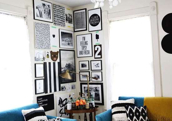 Gallery-wall-corner