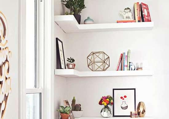 Corner-shelves