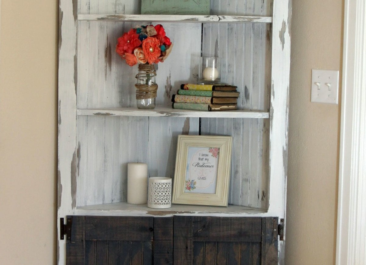 DIY Corner Cabinet Corner Decor Ideas 11 Ways to Make
