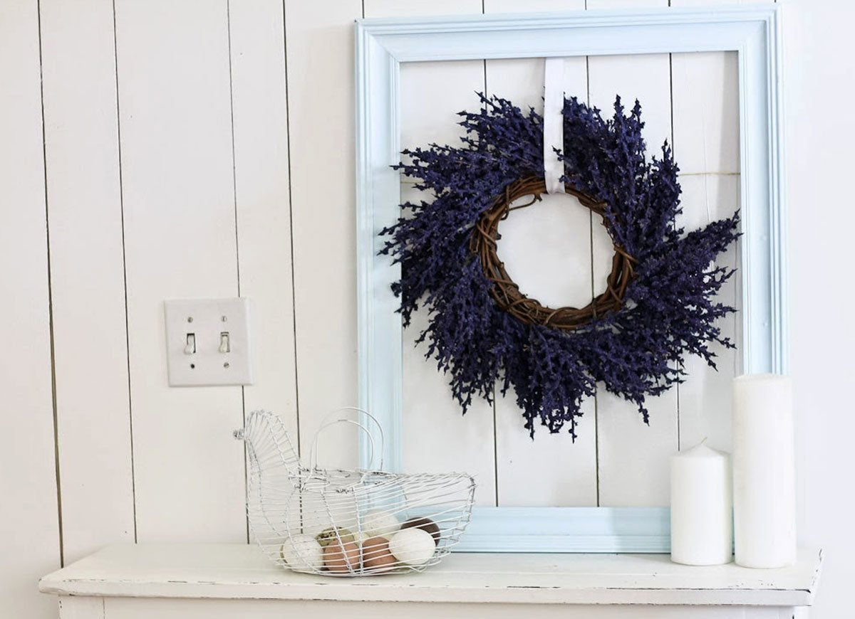 Diy-picture-frame-wreath
