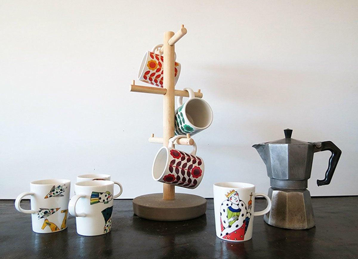 Coffee-mug-stand