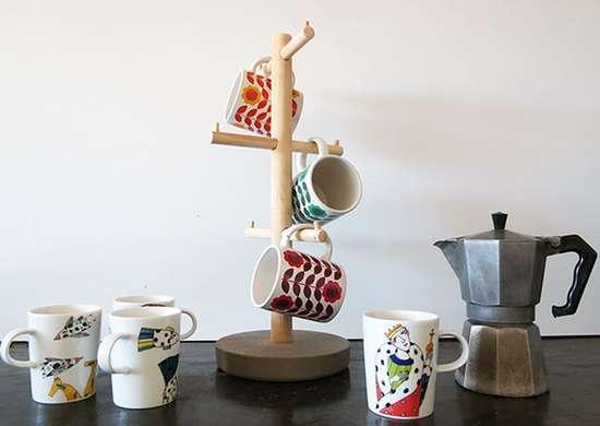 Coffee mug stand