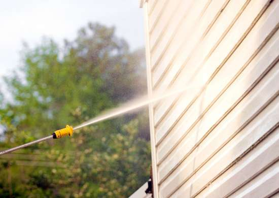 Pressure Wash Your Exterior Siding