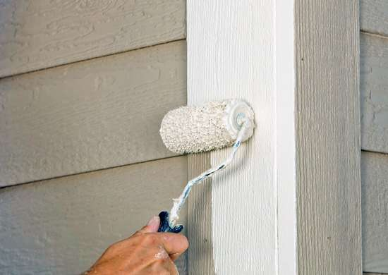 Touch Up Home Exterior with Paint