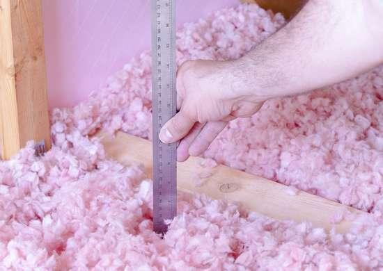 Insulating the attic