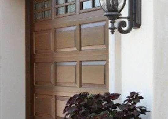 Clopay raised panel wood garage doors