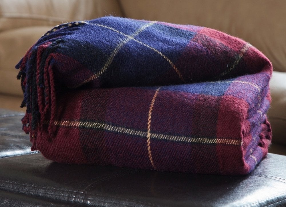 Plaid-blanket-fall-decor