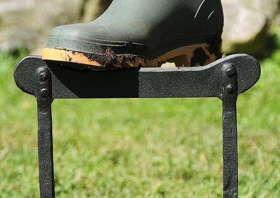 Wrought Iron Boot Scraper