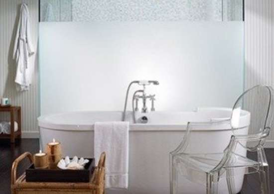 Designerscollaborativenyc bruce bieman stand alone duravit tub in a palm beach bathroom by bruce bierman
