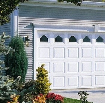 Waynedalton vinyl garage door model 8700