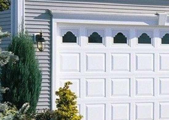 Waynedalton vinyl garage door model 8700