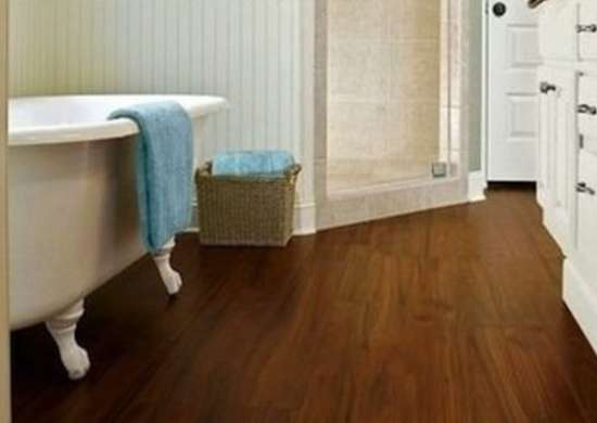 Bathroom floor tile 14 top options bob vila for Installing laminate flooring in bathroom