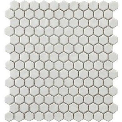 Overstock somertile victorian hex porcelain mosaic tile