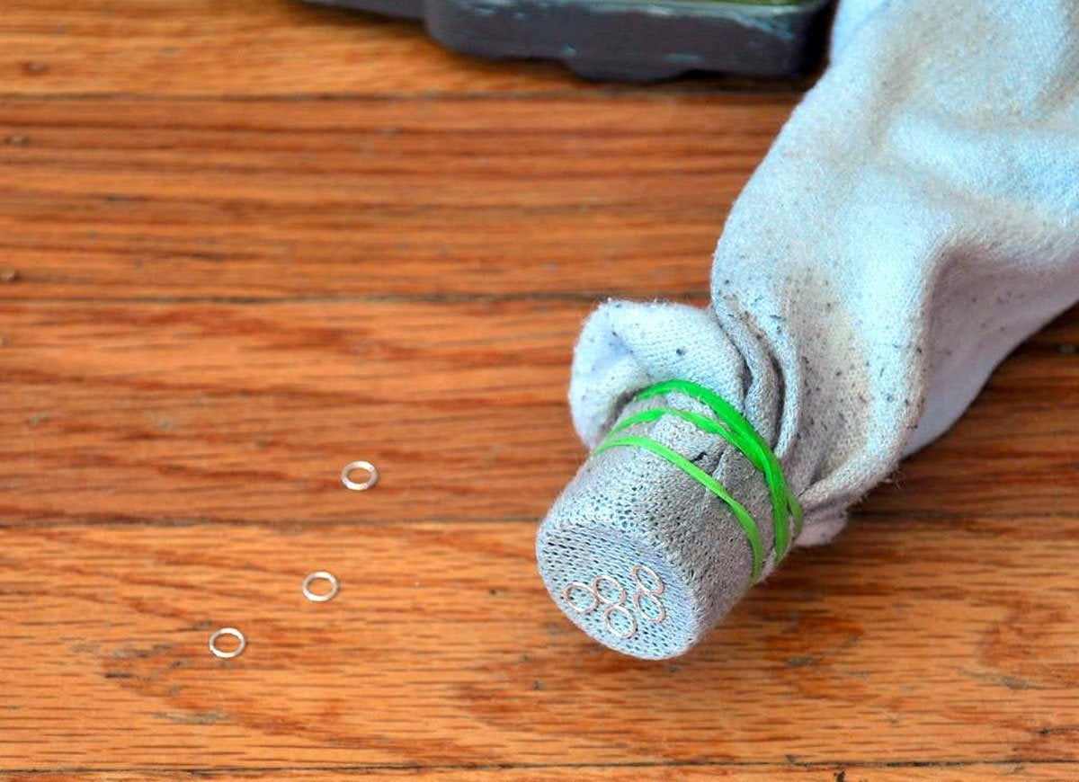 Sock vacuum hose