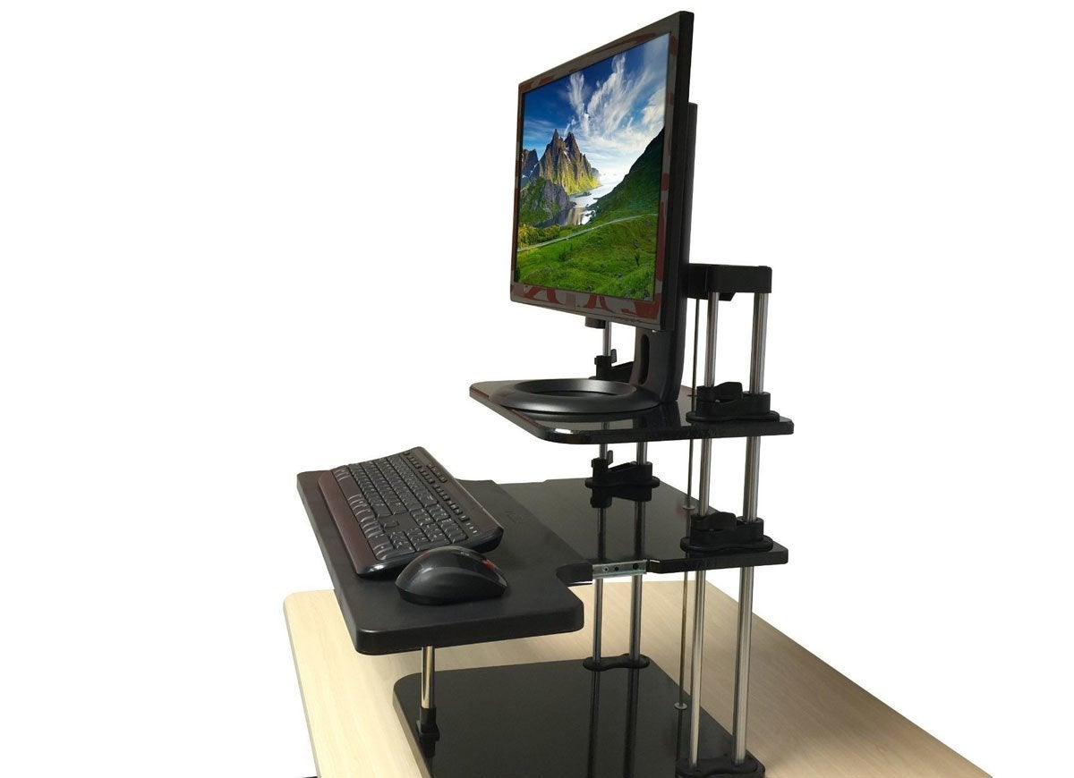 Sit stand converter