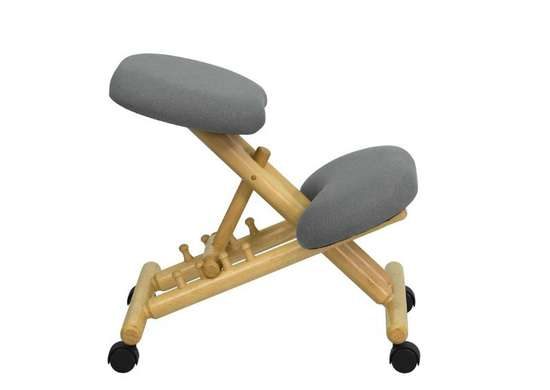 Flash furniture mobile ergonomic kneeling chair