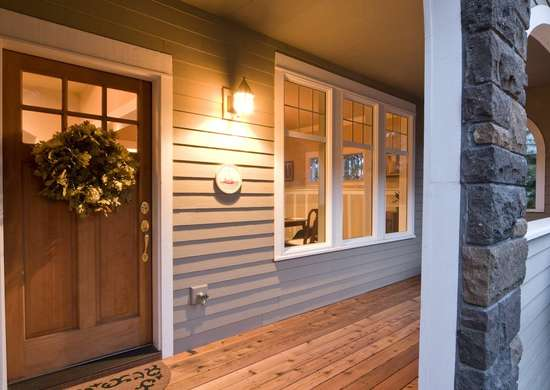 Motion Sensor Porch Lights