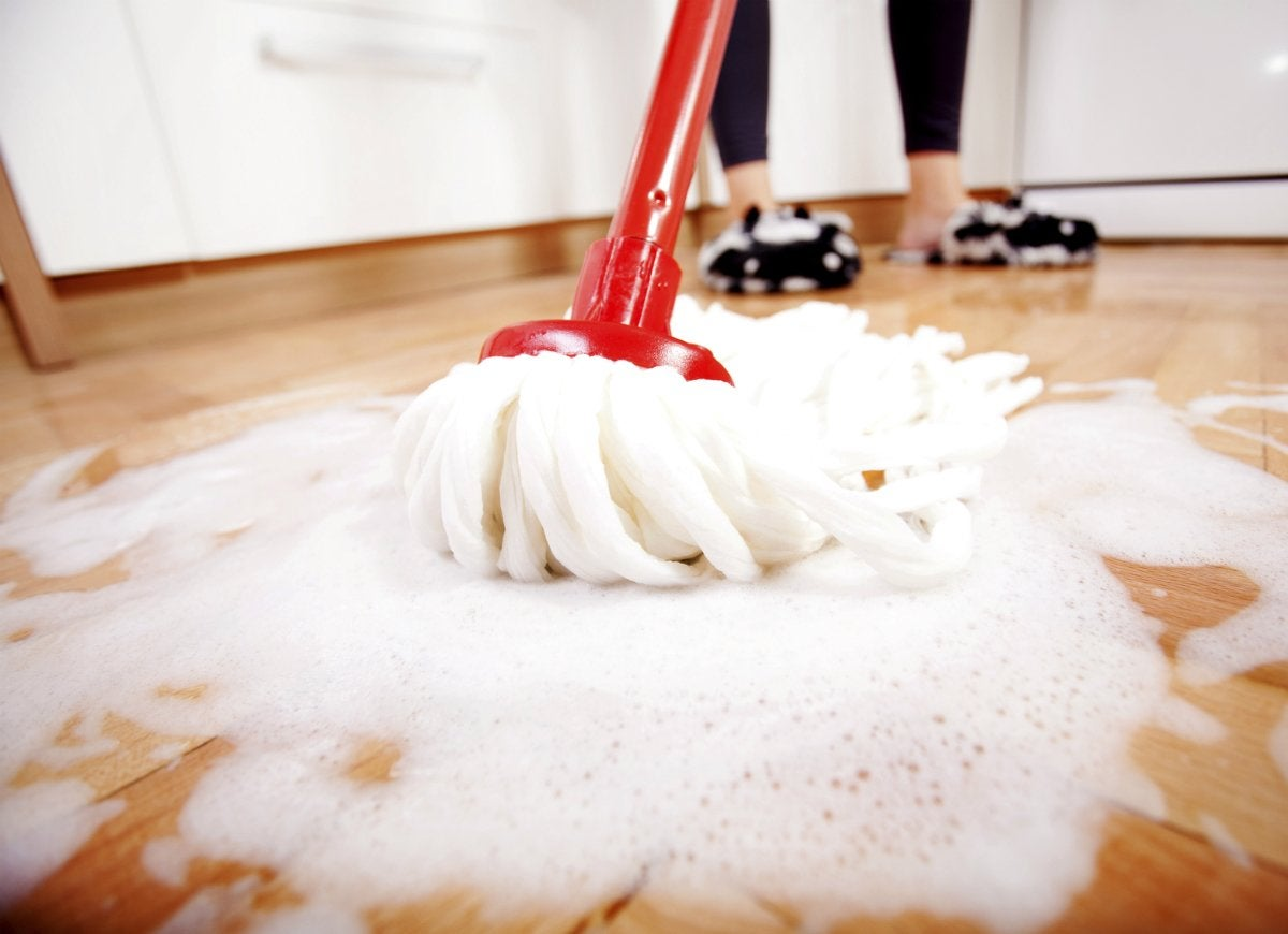 Diy-floor-cleaner