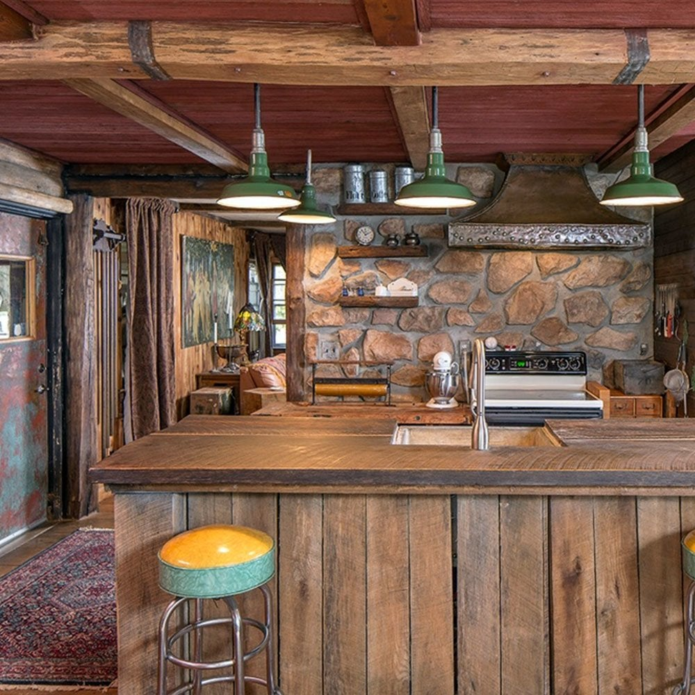 Rustic-wood-kitchen