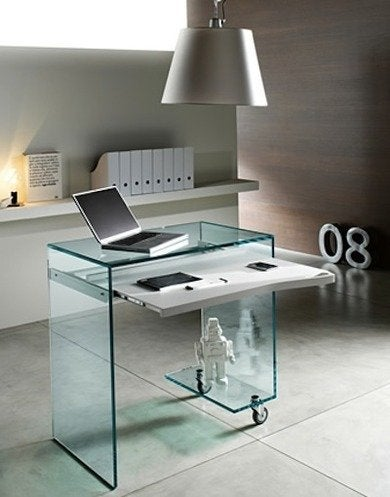 Tonelli glass desk work box 01