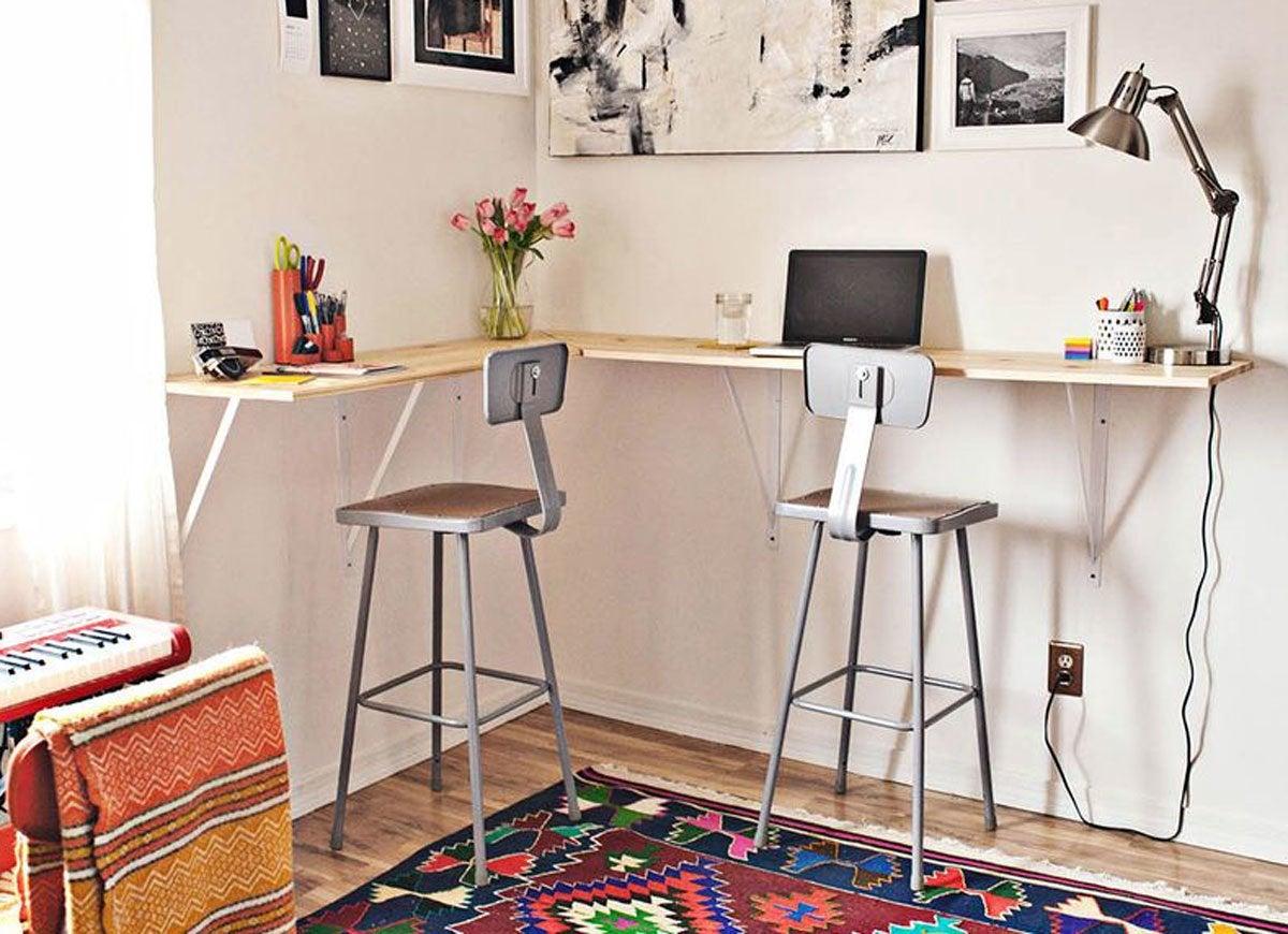 Diy Desk 15 Easy Ways To Build Your Own Bob Vila