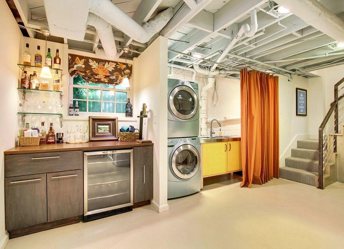 Unfinished Basement Ideas 9 Affordable Tips Bob Vila