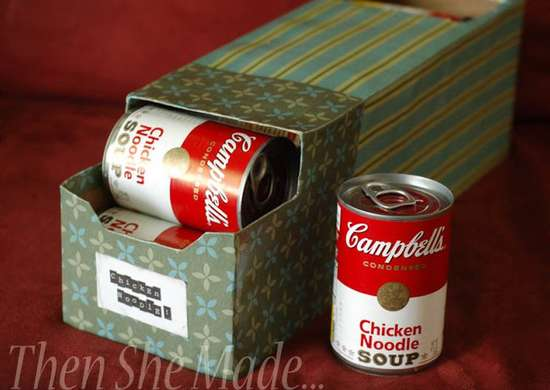 Soup Can Organizer