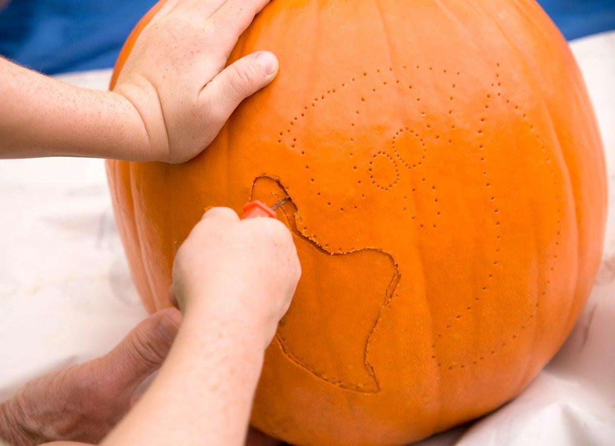 how to stencil pumpkin pumpkin carving hacks 12 brilliant