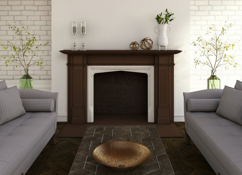 Fireplace slip