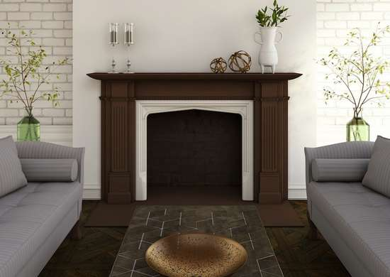 Fireplace slip