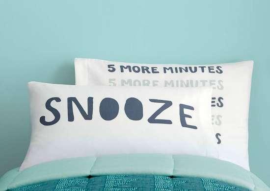Cheeky pillowcases