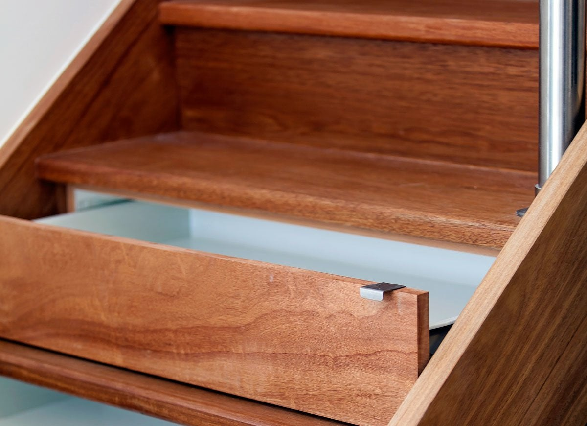 Stair drawer