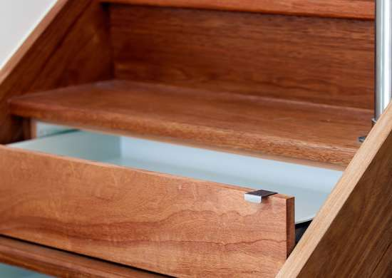 Drawers Under the Steps