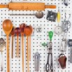 Pegboard on Kitchen Island