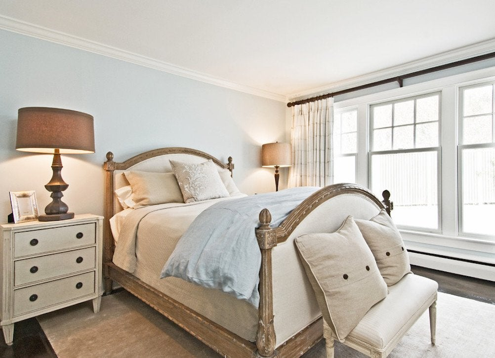 Bedroom paint colors 8 ideas for better sleep bob vila Blue bedroom