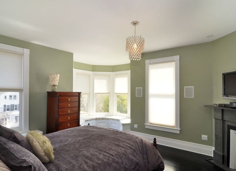 Green bedroom bedroom paint colors 8 ideas for better - Bedroom wall paint colors ...