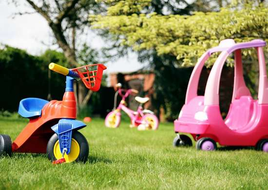 Toys-in-yard