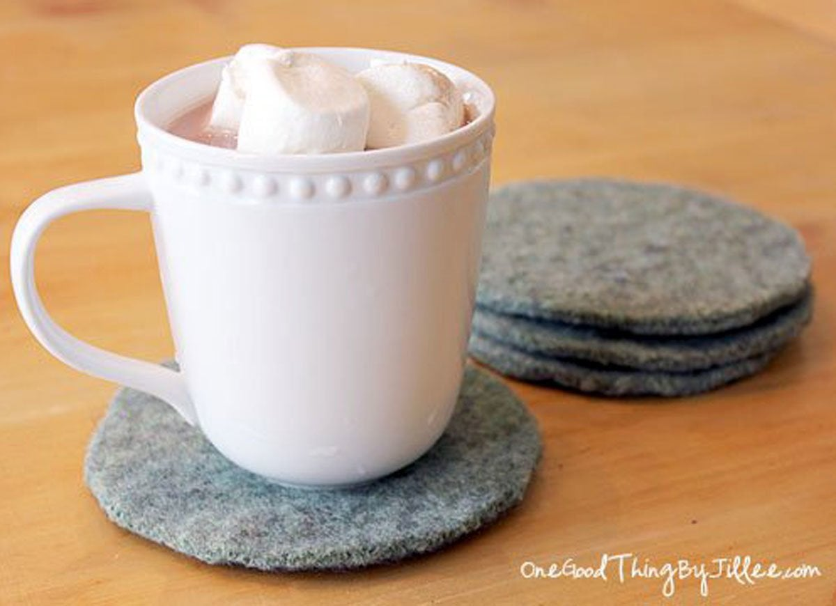 Sweater-coasters