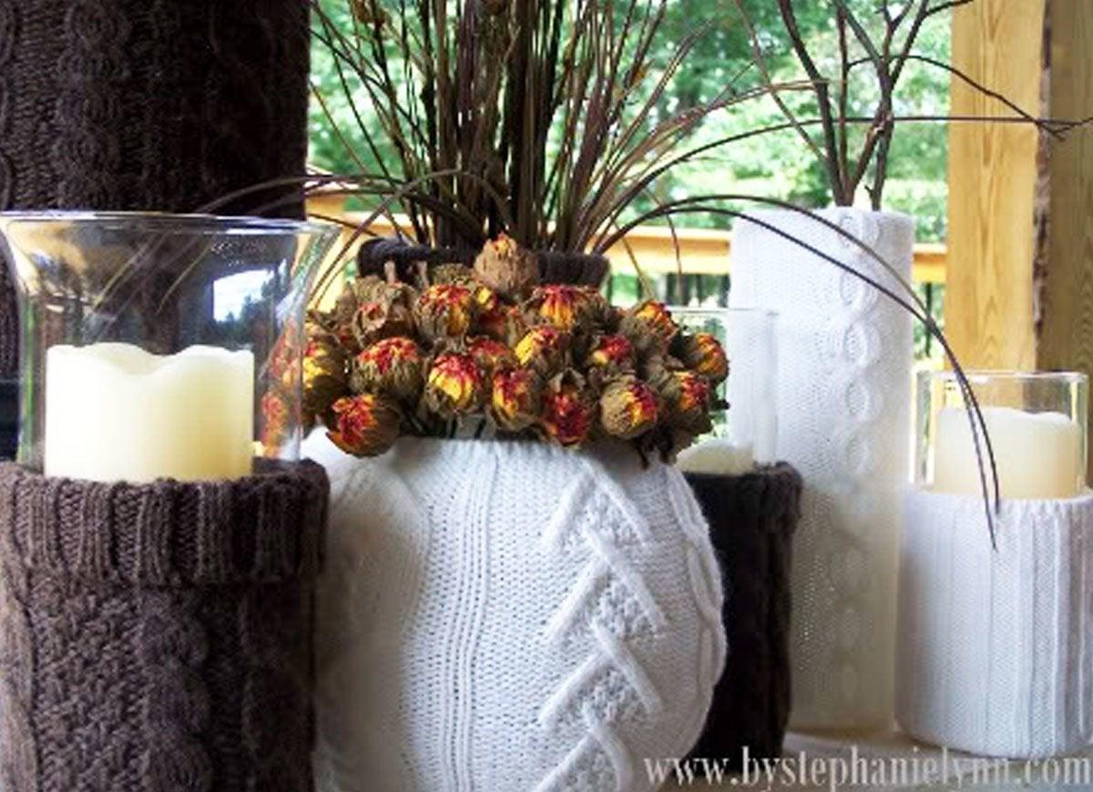 Vase sweater