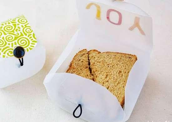 Milk Carton Lunch Box