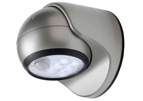 Fulcrum Motion Activated 6-LED Porch Light