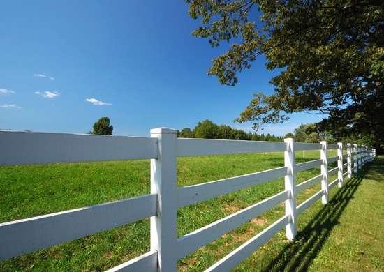 Easy pvc fence