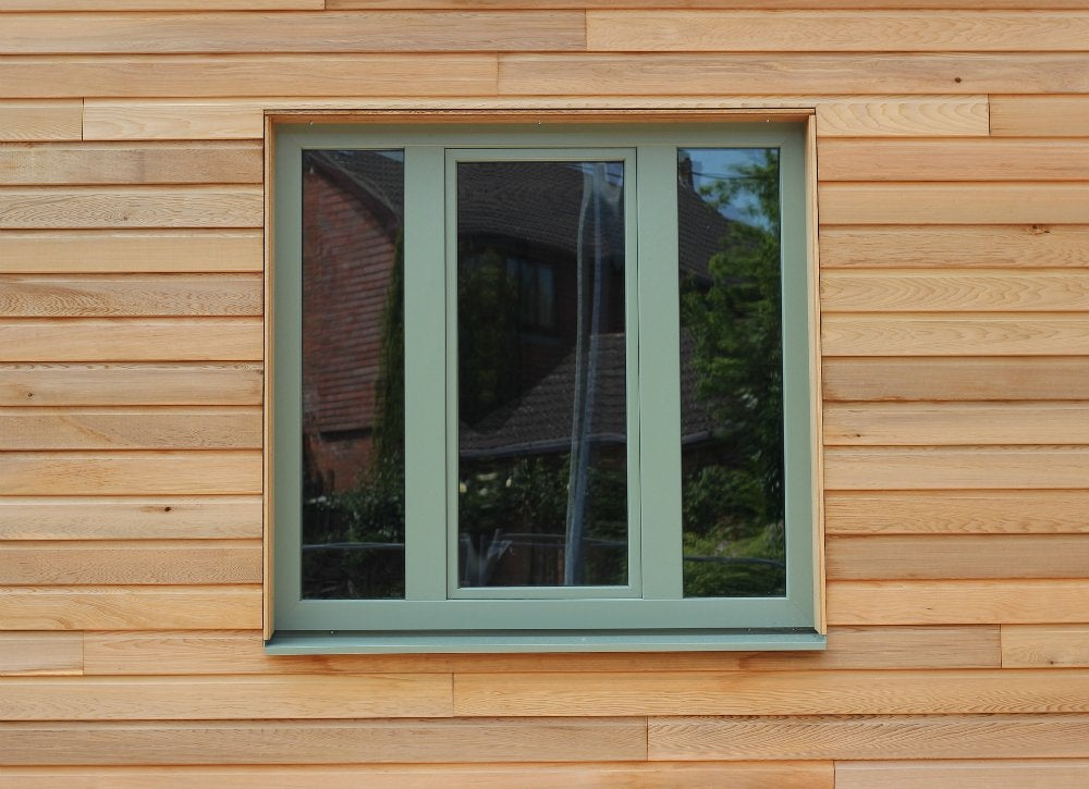 Easy clad windows