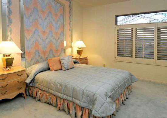 Peach and Blue in Home Design